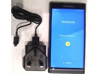 V GOOD CONDITION: Blackberry Priv unlocked mobile smart phone 32GB black, Android OS smartphone