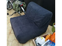 Single Futon Fold-Out Bed (used) For Sale.
