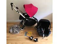 Bugaboo bee plus with maxi cosi car seat - very good condition