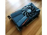 Gigabyte Nvidia GeForce GTX 1050 ti (4GB) - Mini ITX Gaming PC PCIE Graphics/Video Card GPU