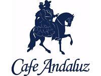 New Cafe Andaluz Edinburgh - George IV Bridge - Old Town - chef de partie