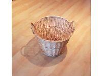Large Rattan Storage Basket, Shop Display, Home Decor