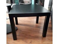 Free - Black tv stand, 2 side tables and lamp shade