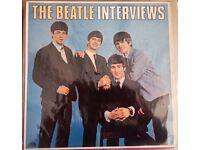 The Beatle Interviews Beatles vinyl LP UK MINT. UK CBR1008 EVEREST 1982