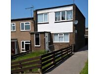 Well presented and spacious three bedroom end town house