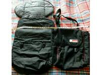 Mothers & Pappas Changing Bag & Foot Muff