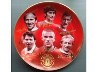 Wanted Danbury Mint Football Badges Plates Ingots Tankards Collectibles