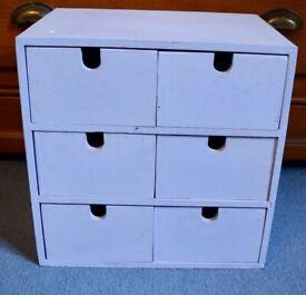 Ikea Storage Box Painted Mauve