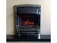 Valor Homeflame Dream HE 4.0 KW Inset Gas Fire ( Chrome )