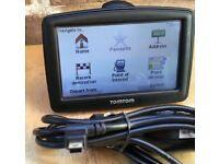 TomTom XL Sat Nav GPS navigator with UK and ROI Ireland maps