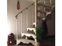 Cast iron spiral staircase 10 steps