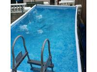 outdoor garden pool