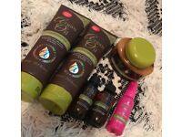 Argan oil and lee Stafford hair product bundle