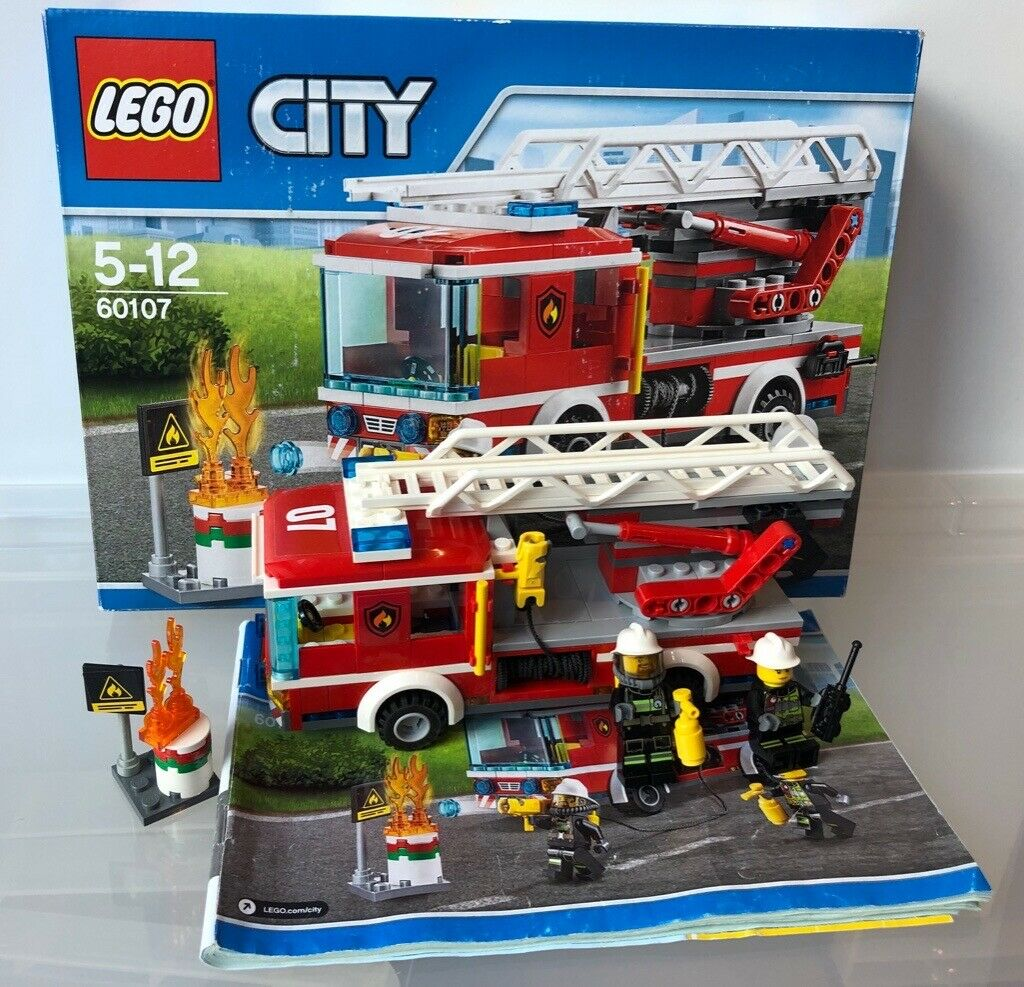 Lego City Fire Ladder Truck 60107 In Guildford Surrey Gumtree
