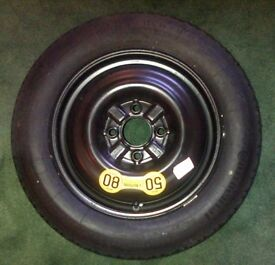 VOLVO V40 (1996-2004) spare wheel/tyre/jack - Never used. £15. Collection CT7