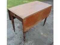 Vintage Pembroke Table, 105cm x 54cm/105cm
