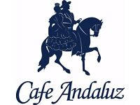 New Cafe Andaluz George IV Bridge Old Town - opening end October 2017 - Recruiting Kitchen Porters