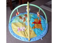 BABY PLAY MAT - Winnie The Pooh Bear / Disney Theme......Excellent Condition,Little Used