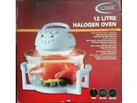 New 12 litre Halogen oven Christmas gift
