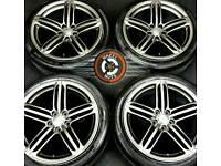 "19"" Genuine Audi A3/S3/TT Segment alloys, refurb, good cond, 4 good tyres."