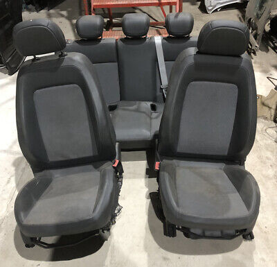 Vauxhall Corsa D 5-Door Full Set Interior Seats Half Leather 2006-2012