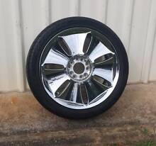 """18"""" WHEEL 235/40R18 TYRE FORD AND HOLDEN PATTERN SUIT SPARE Kallangur Pine Rivers Area Preview"""