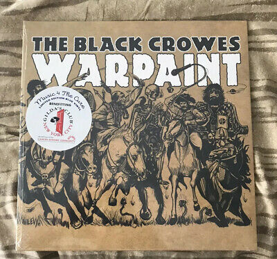 Black Crowes   WarPaint Limited Edition Blue Vinyl Sealed Crow Limited Edition