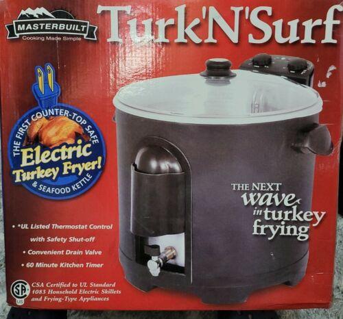 Masterbuilt Turk N Surf Premium Electric Turkey Fryer, Seafo