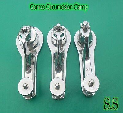 3 Gomco Circumcision Clamps 1.1cm 1.2cm 1.3cm Surgical Instruments