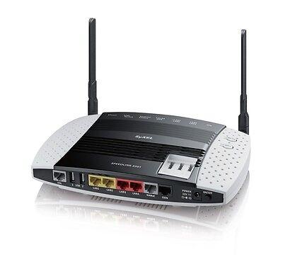 Telekom ZyXEL Speedlink 5501 Telekom Businessrouter VDSL2, ADSL2+ VOIP Router GE