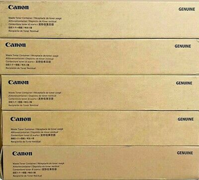 5 Boxes Of Canon Fm4-8035-010 Waste Container Canon New Genuine-free Shipping