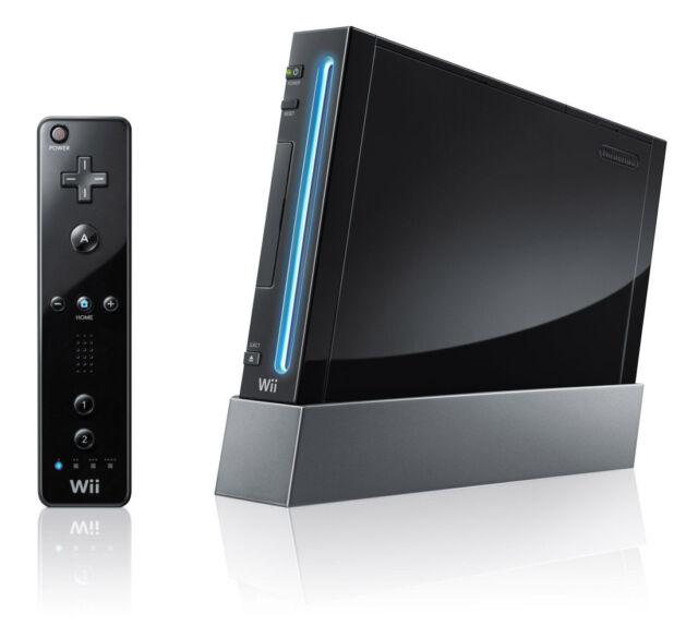 Genuine Nintendo Wii Console AUS PAL Format Black *VGWC!* + Warranty!