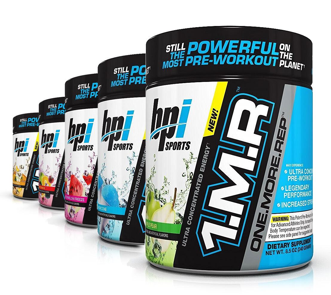 BPI Sports NEW 1.M.R Ultra Concentrated Pre-Workout Energy &