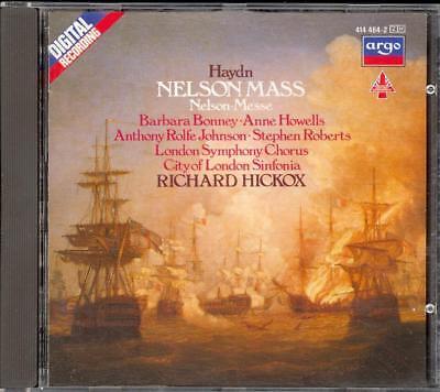 Usado, HAYDN - Nelson Mass - Richard HICKOX / City Of London Sinfonia - Argo WG segunda mano  Embacar hacia Argentina