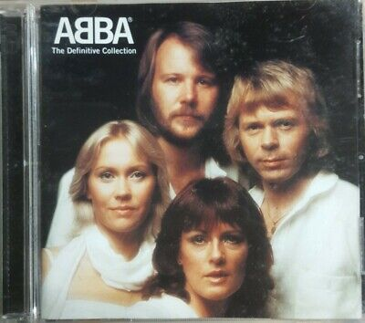 The Definitive Collection by ABBA (CD, 2001) Clean