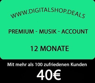 12 Monate Spotify Premium  - Volles Kontozugriff || Direkt Mail Versand ❤️