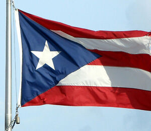 NEW LARGE 3ftx5ft PUERTO RICO RICAN STATE INDOOR OUTDOOR FLAG