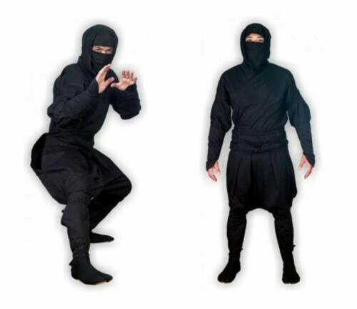 73068 Shinobi Shozoku Real Ninja Uniform Authentic Ninjutsu Costume Black Blue