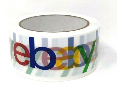 1 Roll X 75 Yard Ebay Branded Bopp Packaging Tape Box Packing Shipping Supplies