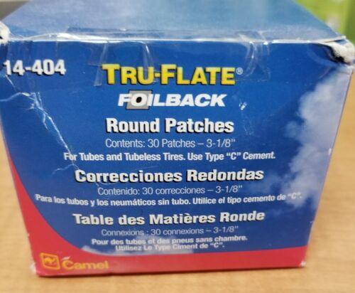 "Camel Tru-Flat foilback round 3 1/8"" patches"
