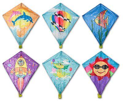 1 x Klassik Kinderdrachen 60 cm Drachen Flugdrachen Drache Kite div. Modelle