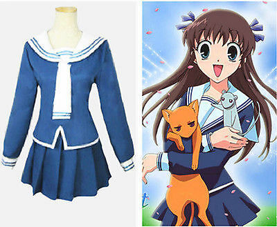 Halloween Fruit Baskets (Anime Fruits Basket Tohru Honda Halloween Cosplay Costume)