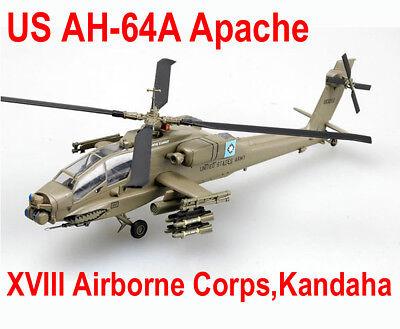 Easy Model 1 72 Us Army Ah 64A Apache Xviii Airborne Corps Kandaha  37029