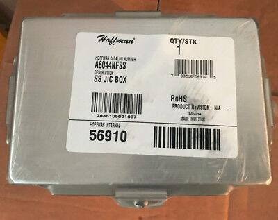 Hoffman A6044nfss Stainless Steel Box