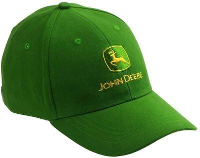 Genuine John Deere Green Baseball Cap Hat Adults Seasick Steve