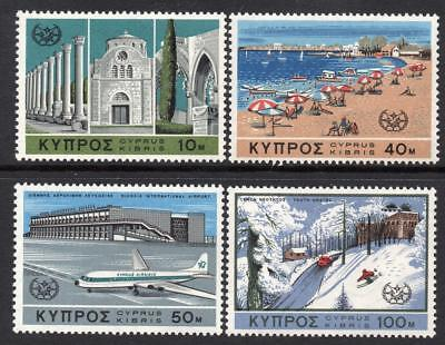 Cyprus MNH 1967 SG309-12 International Tourist Year