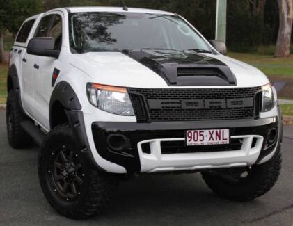 2012 Ford Ranger Ute 3.2 4X4 TURBO DIESEL REGO AND RWC