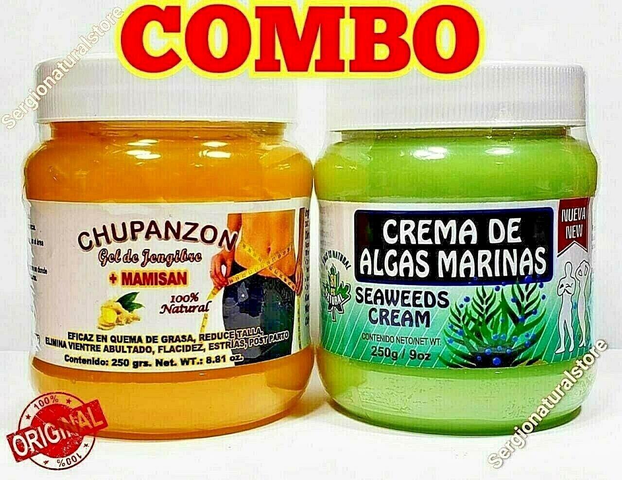 CREMA REDUCTORA DE ALGAS MARINAS BODY CREAM REDUCING 250 grs. QUEMADOR DE GRASA