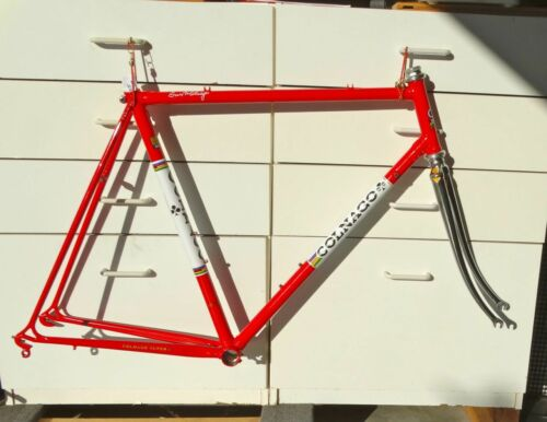 56cm Colnago Super - Vintage steel frame-set - Refinished + extras