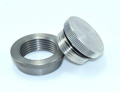 BungKing Aluminum Oil tank filler cap and mild steel weld in bung